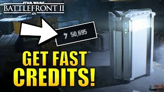 How To Earn Fast Credits In Battlefront 2!!