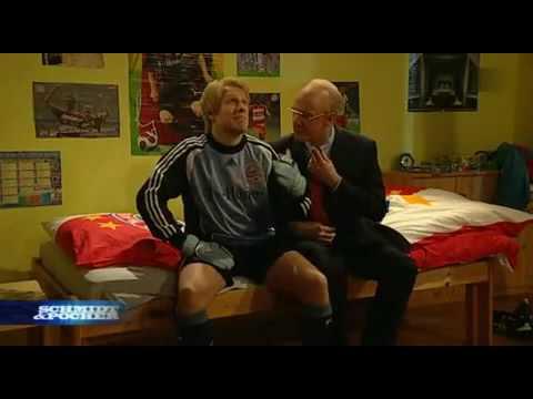 Bayern Wg Oliver Kahn und Franz Beckenbauer