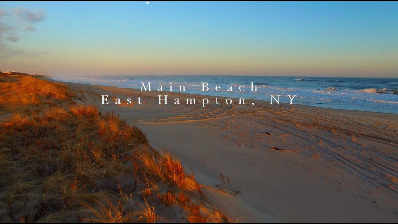 Main Beach Sunset East Hampton Ny