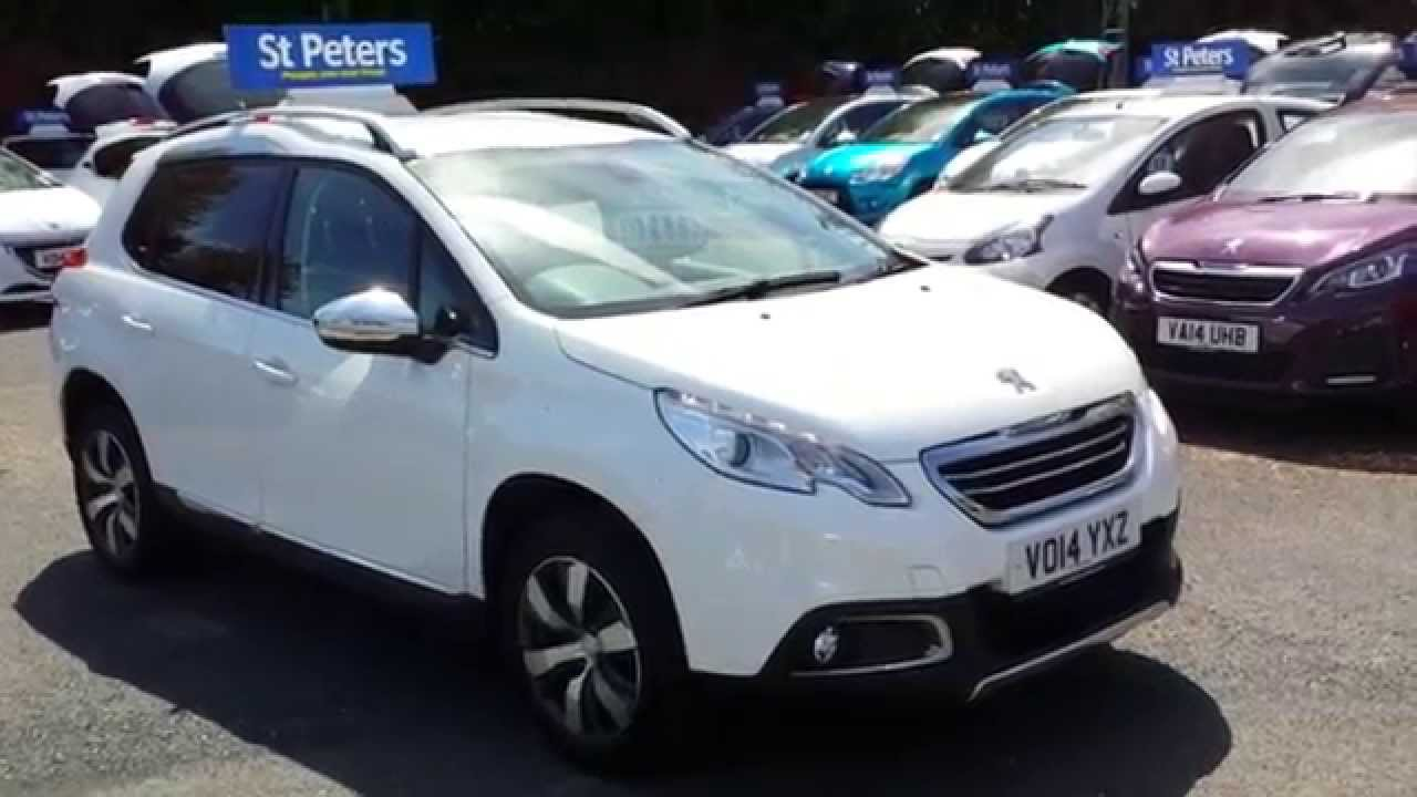 2014 peugeot 2008 crossover 1 6 e hdi 92bhp allure s s vo14 yxz at st peter 39 s peugeot. Black Bedroom Furniture Sets. Home Design Ideas