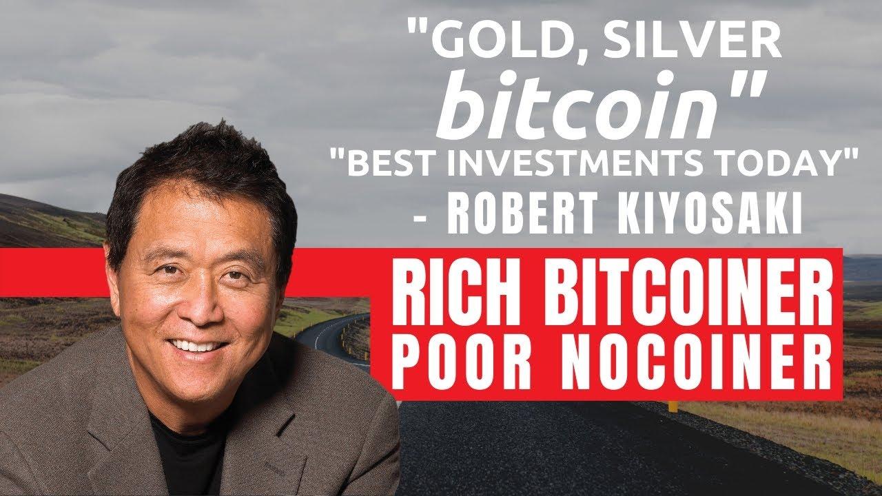 robert t kiyosaki cryptocurrency