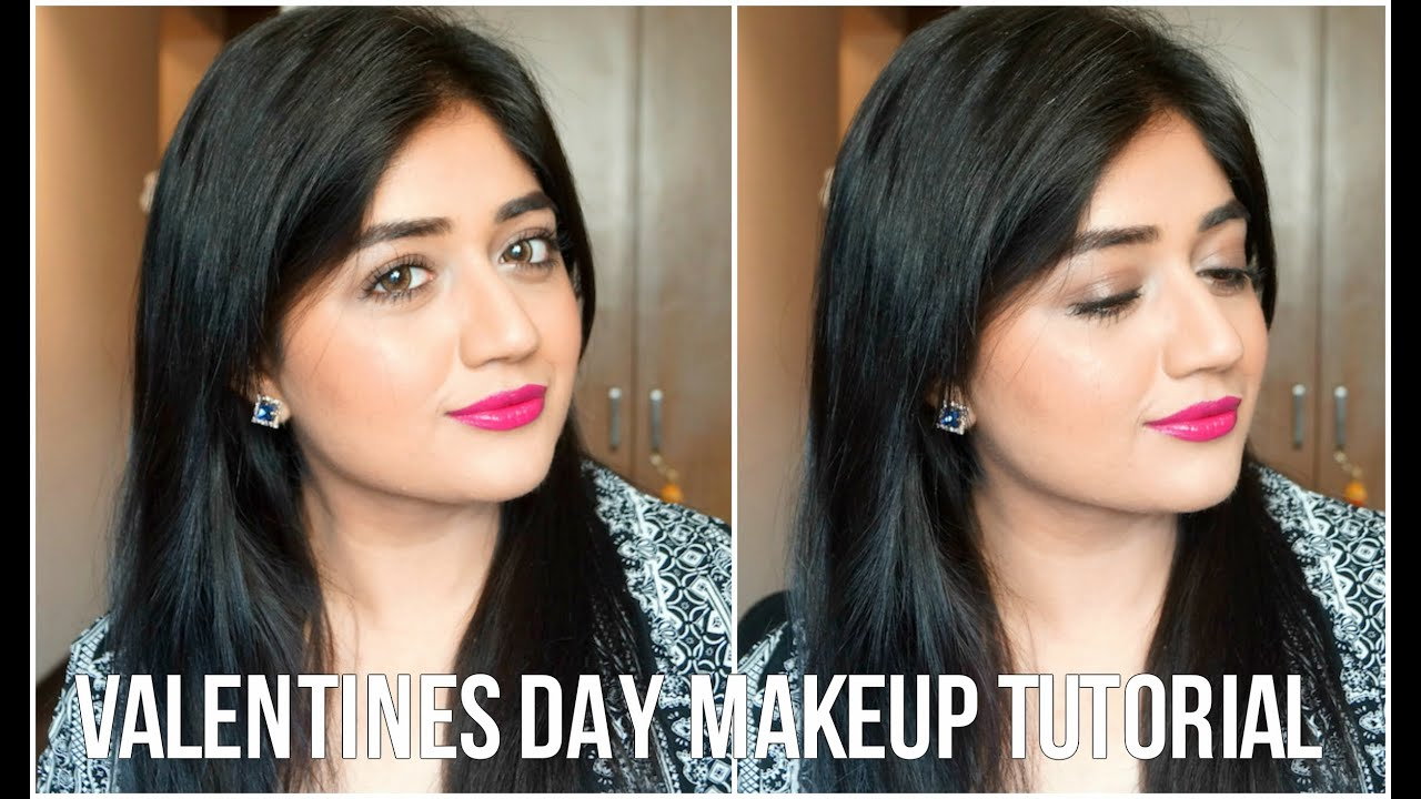 Valentines Day Makeup Tutorial Us Drugstore Products Corallista