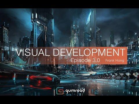 Concept Art Tutorial Episode3 - Midnight City