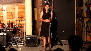 "Manasi Nene performs ""Half My Love Poems"""