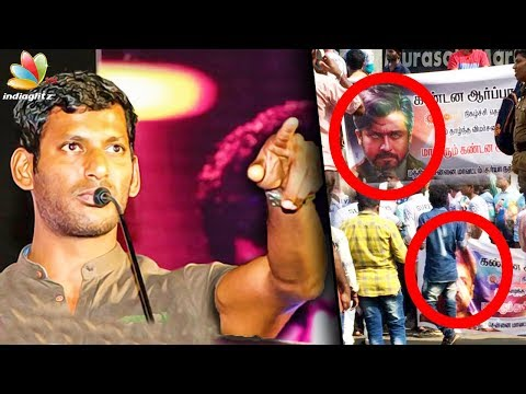 Nadigar Sangam has sent a notice to the channel : Vishal Speech | Surya, Anchors Controversy