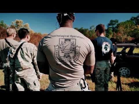 5th Psychological Operations Battalion, 8th Group 2019 Army Navy Video