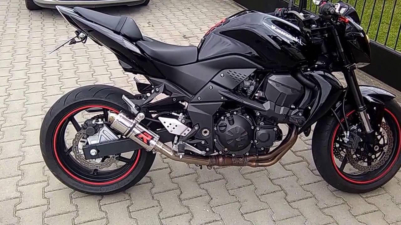 Kawasaki z750/2008. Wydech/Exhaust/ Dominator GP I - YouTube