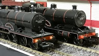 Ex LMS 4-4-0s of the Mainline and Bachmann variety