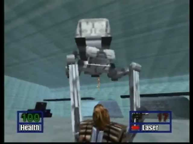 Star Wars: Shadows of the Empire N64 Playthrough Escape from Echo Base #1