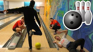 FUßBALL⚽ BOWLING 🎳CHALLENGE