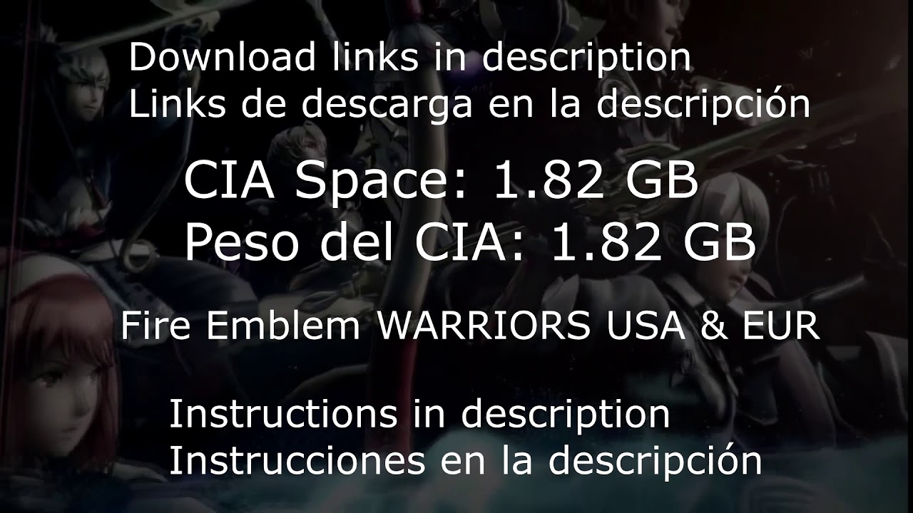 Fire Emblem Warriors NEW 3DS FULL GAME (USA & EUR)  CIA DOWNLOAD