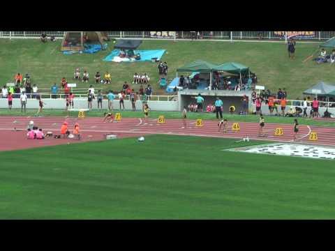 H29 千葉県 中学通信陸上 女子200m決勝