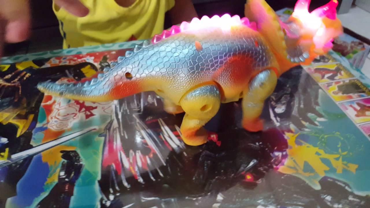 Dinosaurus Mainan Anak Kecil Yellow Mini Dinosaur YouTube