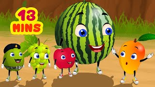 Fruits Picnic - Tina & Bana Stories | Telugu Stories for Children | Infobells