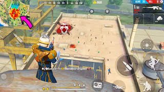 Beware Of My Scope In Factory | Amazing Gameplay In Free Fire | Garena Free Fire - P.K. GAMERS