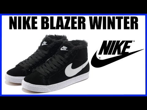 Обзор зимних кроссовок Nike Blazer Winter Распаковка посылки с Aliexpress Алиэкспресс Unboxing