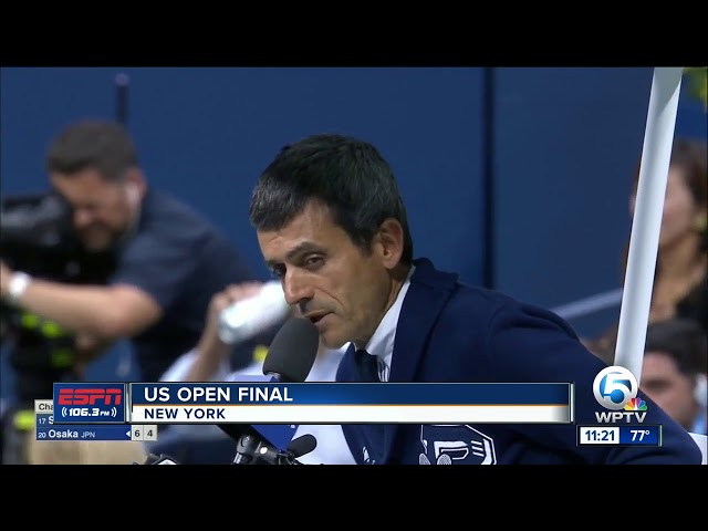 Serena Williams has a meltdown at the US Open