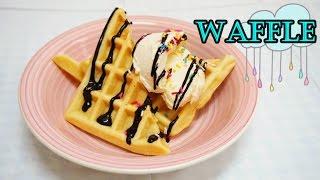 原味窩夫食譜 The Basic Waffle Recipe * Amy Kitchen