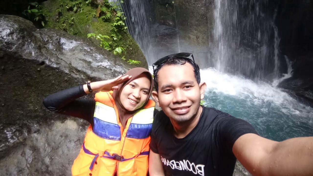 Wisata alam air terjun Teroh² & Kolam kaca - YouTube