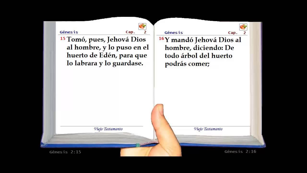 La Santa Biblia Hablada - Genesis Capítulo :2 - YouTube
