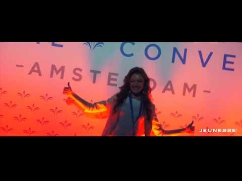 Jeunesse Global. Европейская Конвенция Jeunesse в Амстердаме, Голландия в апреле 2017