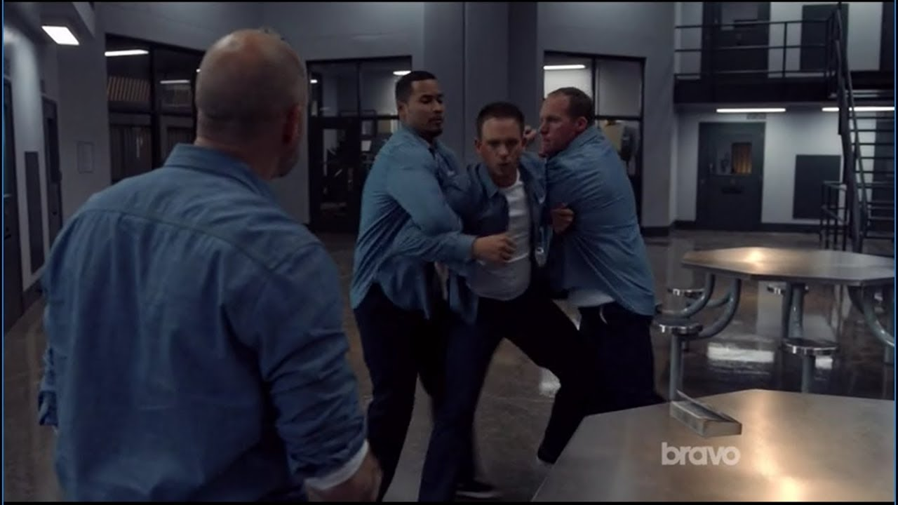 Download Suits - Mike is almost Stabbed by Gallo in Prison