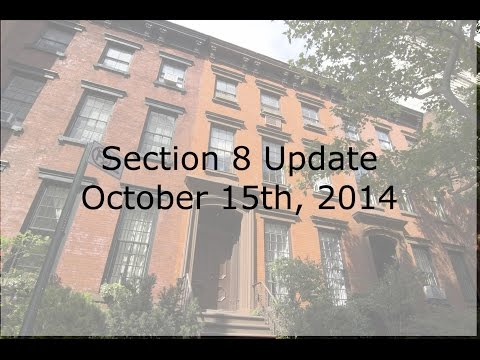 Section 8 Update - October 15th featuring Racine County, WI,  Pasadena, CA,  and Chicago, IL