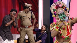 Thakarppan Comedy I Indhuchoodan rock with Ottanthullal.. I Mazhavil Manorama