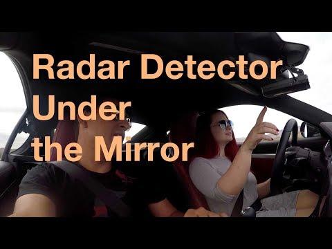 982 Cayman Radar Detector Install