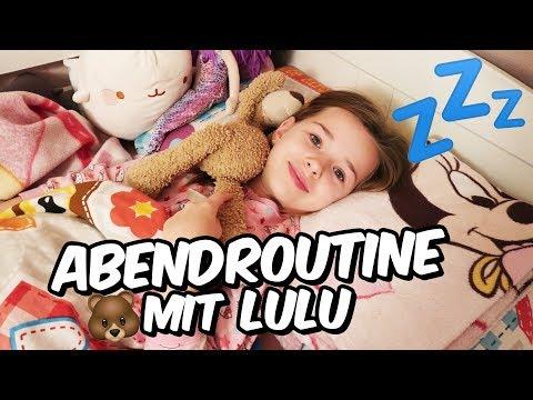 Lulu's Abend Routine in der Schulzeit 🤓  Lulu & Leon