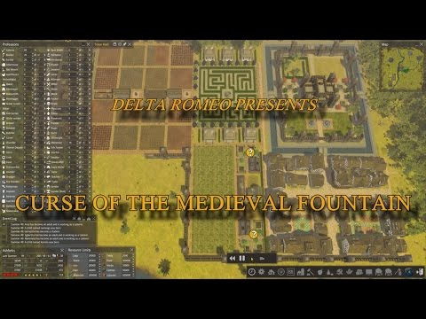 Banished: Curse Of The Medieval Fountain Part 10 - The Irrigation Mod