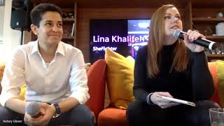 LINA KHALIFEH SPEAKS AT SALESFORCE 2020