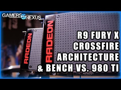 AMD R9 Fury X CrossFire Review & Benchmark vs. GTX 980 Ti SLI
