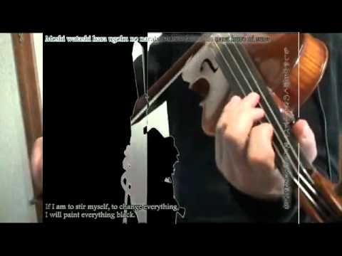 •ˆ•♥bad apple!! violin •ˆ•♥ (sub. ingles)