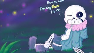 Dating Sans under the sea of stars【 Undertale Comic dubs 】