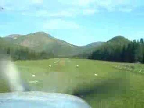 Approach to Schafer Meadows, Montana