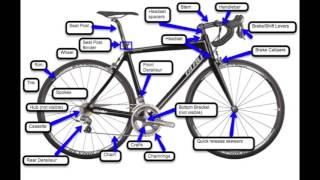 Basic Road Bicycle Maintenance - Bicycle parts identification- Module 1 Lesson 2
