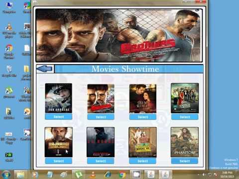 cinema managment system on java