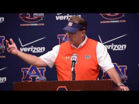 Gus Malzahn   Auburn vs Jacksonville State post game press conference