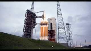 Orion EFT-1 Launch 4K Remote Camera Video Via Lockheed Martin
