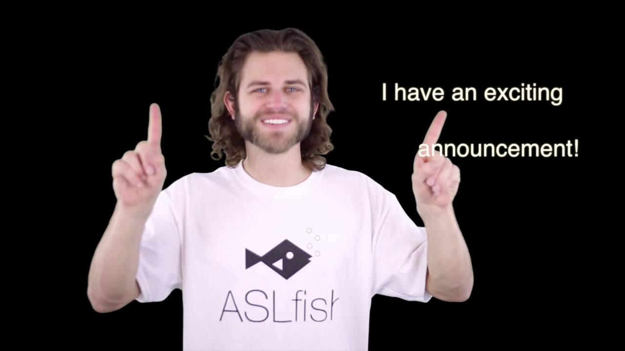 Sign language dating app