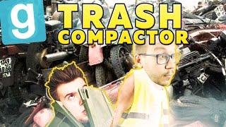 NOWE ŚMIECI! | Garry's mod (With: Ignacy, Mandzio, Kubson) #489 - Trash Compactor [#9] #Bladii