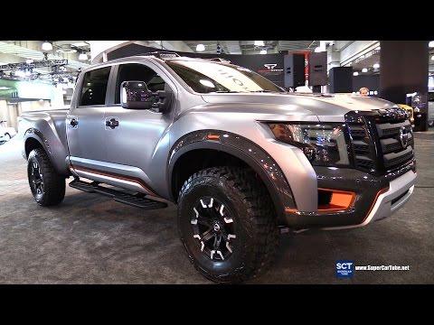 2017 Nissan Titan Warrior - Exterior And Interior Walkaround - 2016 New York Auto Show