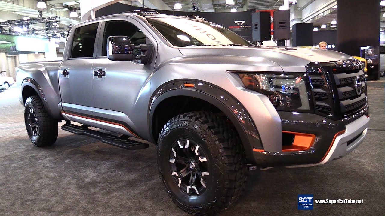 2017 Nissan Titan Warrior Exterior And Interior