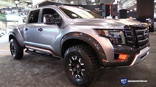 2017 Nissan Titan Warrior - Exterior and Interior Walkaround - 2016 New York Auto Show thumbnail