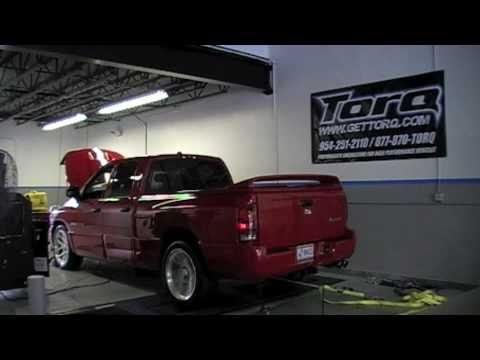 Dodge Ram Srt10 >> Dodge Ram SRT-10 Quad Cab - Custom Dyno Tuning by Torq - YouTube