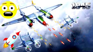 1945 Air Force - Airplane shooting game | 1945 Air Forces - iOS/Android Gameplay Video screenshot 1