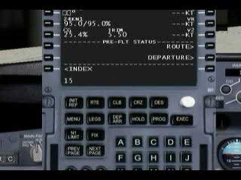 VRInsight CDU II Panel Avionic Online SimWare FMC FSX CAPTAIN 757