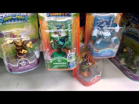 Nintendo Amiibo, Skylanders & Disney Infinity Hunting At Toys R Us