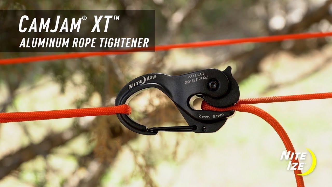 Nite Ize CamJam XT Cord /& Rope Tightener